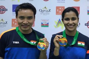 Jitu Rai, Heena Sidhu win gold at ISSF Shooting World Cup