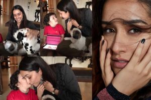 Shraddha Kapoor expresses her love for dogs!