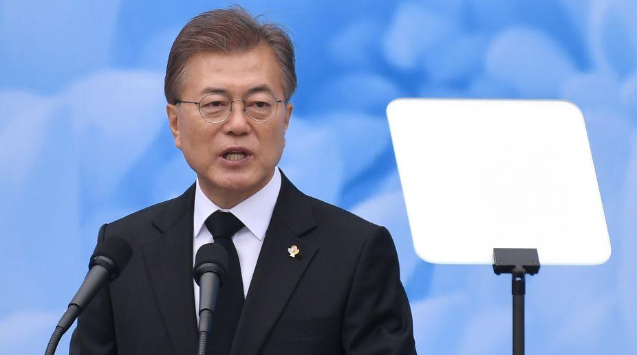 South Korean President Moon Jae