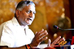 Muslims defending Jinnah insulting their forefathers: VK Singh on AMU unrest