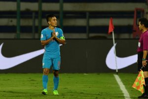 Sunil Chhetri's strike rate better than Cristiano Ronaldo, Lionel Messi