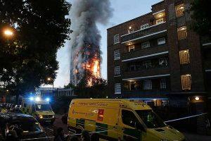 Sikh community helps London blaze survivors