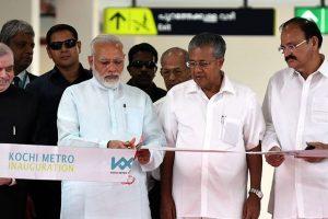 Kochi Metro coaches reflect 'Make in India' vision: PM Modi