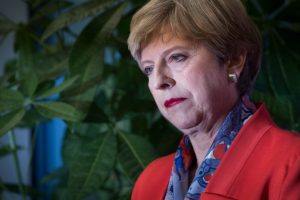 Theresa May tells her MPs to stop 'backbiting'