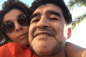 Diego Maradona's daughter hits back after Dani Alves' criticism