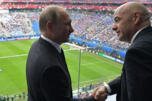 Russian President thanks FIFA as Confederation Cup begins