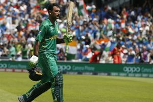 Champions Trophy final: Fakhar's ton lifts Pakistan to 338/4 against India