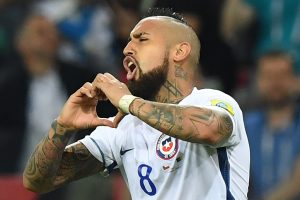 Thanks for the love, says Arturo Vidal after Chile's win over Cameroon