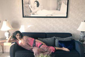 Mallika Sherawat stays at Elizabeth Taylor suite