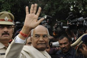 Kovind meets Advani, Joshi; to visit Vajpayee today