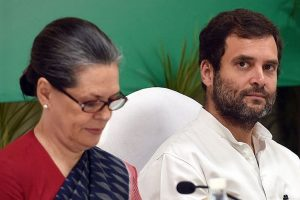 Sonia, Rahul vote in Presidential election