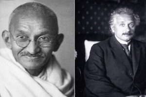 Gandhi and Einstein