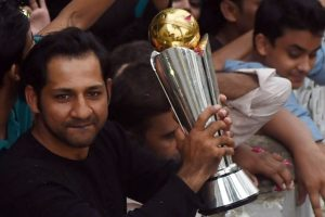Pakistan team receives grand welcome after winning Champions Trophy