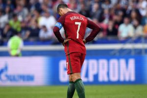 Ronaldo stares at minimum 4-match ban after pushing referee