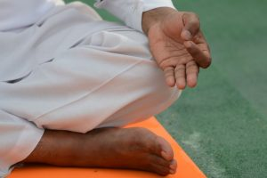 Lines of caste, religion fade away at Yoga Day event