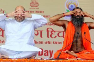 Amit Shah shed body weight, gained political weight: Ramdev