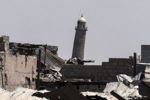 IS blows up Mosul mosque where Baghdadi announced 'caliphate'