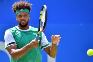 Jo-Wilfried Tsonga crashes out of Queen's Club Championships