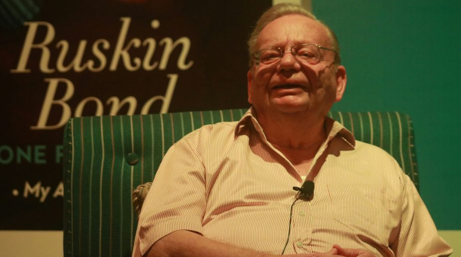 Ruskin Bond autobiography wins literary award