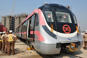 Delhi Metro's Pink line trials begin