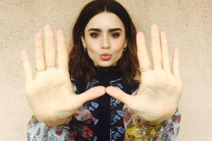 Lily Collins to play J R R Tolkien's wife in biopic