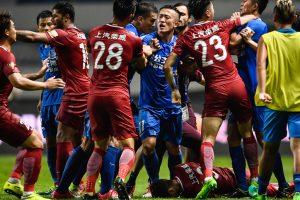 Brazilian star Oscar gets eight-game ban over China brawl