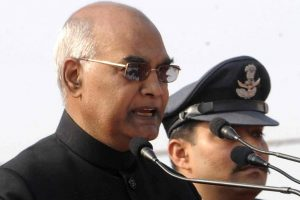 President's post is above party politics: Kovind
