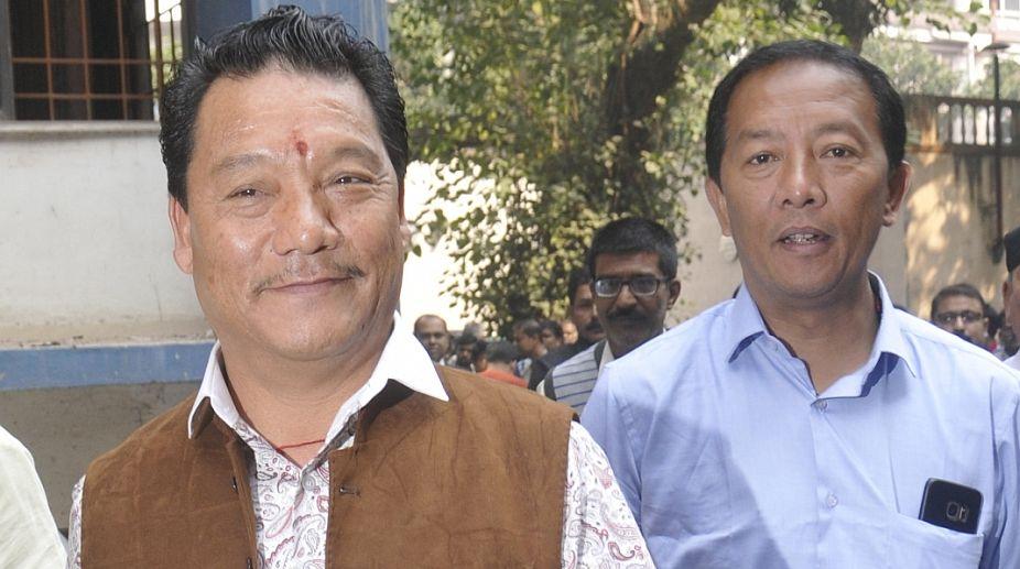 Binoy Tamang, Bimal Gurung, Gorkha Jan Mukti Morcha