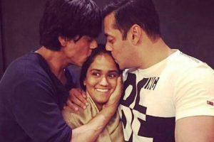 Salman Khan, SRK, Riteish attend Arpita's Diwali bash