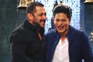 Salman, Shah Rukh Khan together on screen and off it