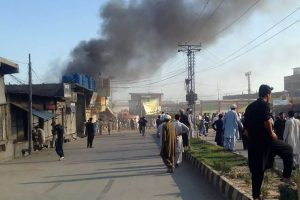 Afghan official: 2 people killed by roadside bombs