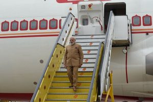 PM Modi reaches Lisbon; to meet Portuguese PM Antonio Costa today