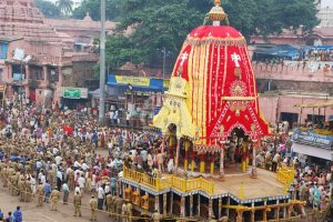 Stage set for annual Rath Yatra festival in Odisha