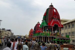 Majestic chariot festival