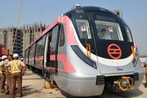Delhi Metro: Test run on Pink Line's East Delhi section begins