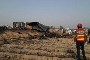 Death toll in Pakistan oil tanker fire is 190