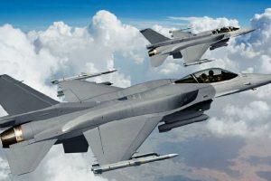 F-16s head-start