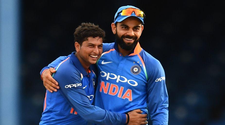 Kuldeep Yadav, Virat Kohli, MS Dhoni, IPL 2018, KKR