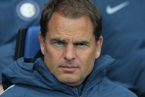 Former Inter coach Frank de Boer is Crystal Palace coach