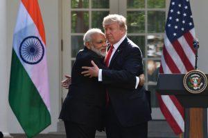 Modi plays Trump card