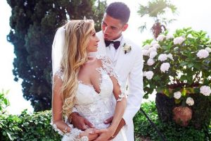 Manchester United defender Chris Smalling ties the knot