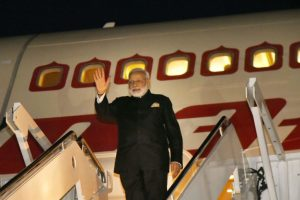 Modi arrives in Netherlands to 'cement ties with a valued friend'