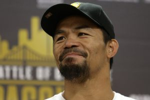 'Manny Pacquiao eyeing Floyd Mayweather rematch'