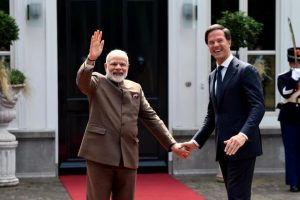 Netherlands natural partner in India's economic development, says PM Modi