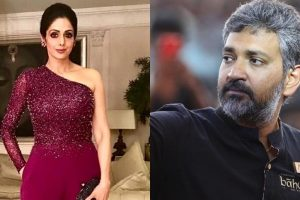 Sridevi 'hurt' by Rajamouli's statement on her rejecting 'Baahubali'
