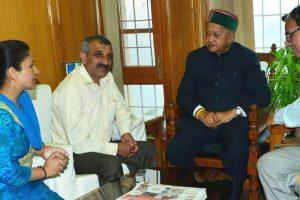 Shimla's Mayor, Deputy Mayor take charge