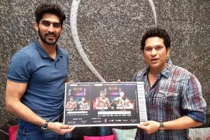 Sachin Tendulkar gets 1st ticket of Vijender Singh's bout with Zulpikar
