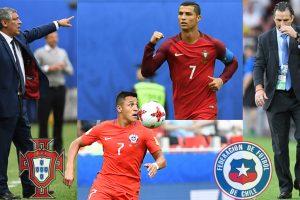 Confederations Cup 2017: Cristiano Ronaldo's Portugal face Arturo Vidal's Chile
