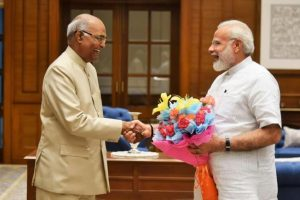 President Kovind, PM Narendra Modi greet nation on Diwali