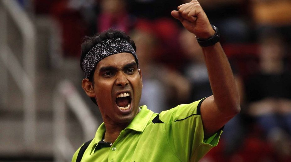 Asian Cup, CWG on his mind, Sharath Kamal eyes top-30 berth